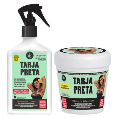 Kit Tarja Preta Lola Cosmetics - Máscara + Queratina Líquida - Kit