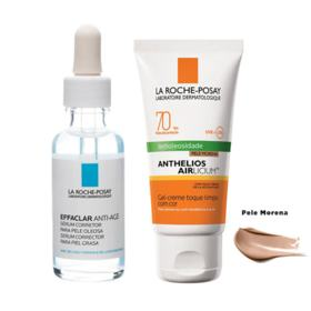 La Roche Posay Effaclar + Anthelios Kit - Sérum Facial + Protetor Solar Morena - Kit