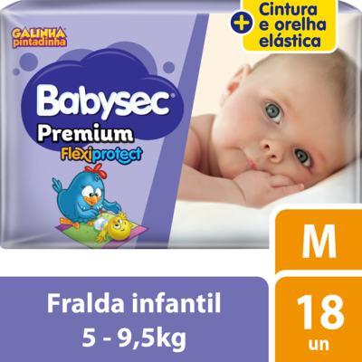 Imagem 2 do produto Fralda Babysec Galinha Pintadinha Premium - M