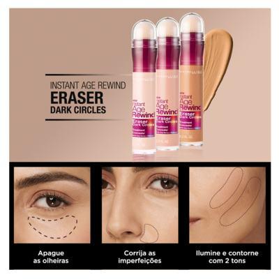 Imagem 5 do produto Corretivo para área dos Olhos Maybelline Instant Age Eraser - Ivory