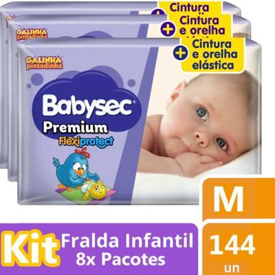 Imagem 3 do produto Fralda Babysec Galinha Pintadinha Premium - M
