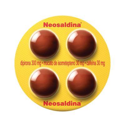 Imagem 1 do produto Neosaldina 4 comprimidos