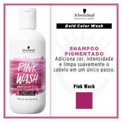 Imagem 4 do produto Shampoo Pigmentado Schwarzkopf Professional - Bold Color Wash Rosa - 300ml