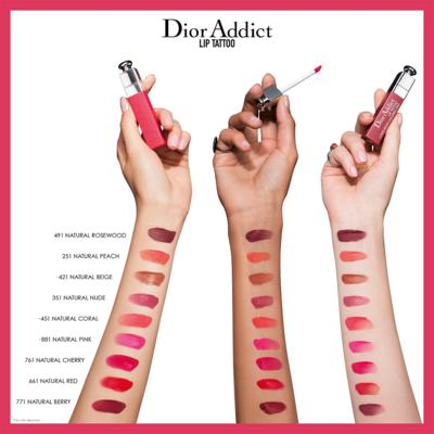 Imagem 5 do produto Batom Dior - Addict Lip Tattoo - 761 - Natural Cherry