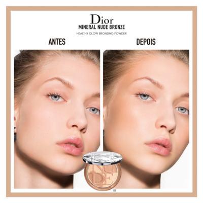 Imagem 3 do produto Diorskin Mineral Nude Bronze Dior - Pó Bronzeador - 03 - Soft Sundown