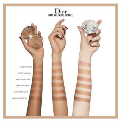 Imagem 4 do produto Diorskin Mineral Nude Bronze Dior - Pó Bronzeador - 03 - Soft Sundown