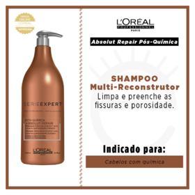 L'Oréal Professionnel Absolut Repair Pós-Química - Shampoo Multi-Reconstrutor - 1500ml