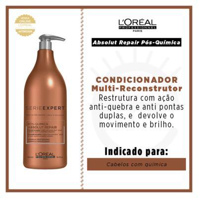 Imagem 4 do produto L'Oréal Professionnel Absolut Repair Pós-Química - Condicionador Multi-Reconstrutor - 1500ml