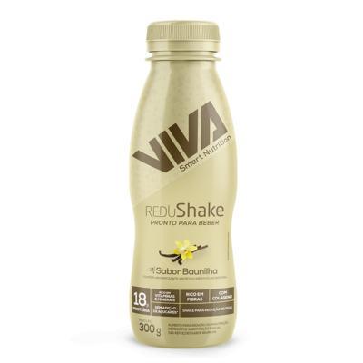 Imagem 1 do produto Redushake Pronto Para Beber Viva Smart Nutrition - Baunilha - 12 Unidades - Baunilha