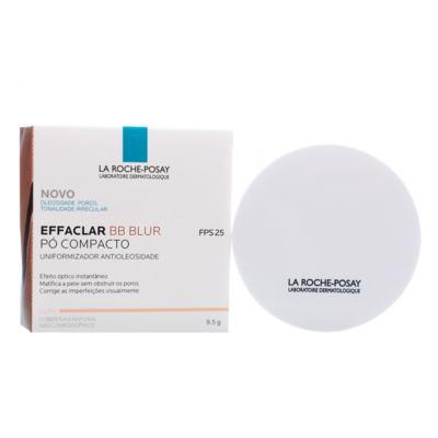 Imagem 4 do produto Effaclar BB Blur Fps 25 La Roche-Posay- Pó Compacto - Clara