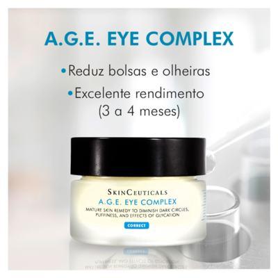 Imagem 5 do produto Skinceuticals AGE Eye Complex Olhos Antiidade - Skinceuticals AGE Eye Complex Olhos Antiidade 15ml