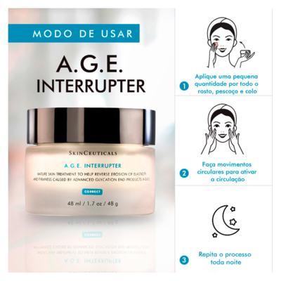 Imagem 4 do produto A.G.E Interrupter Skinceuticals - Rejuvenescedor Facial - 48g