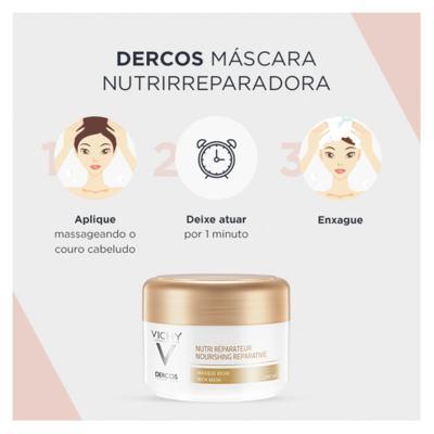Imagem 9 do produto Vichy Dercos Nutri Reparador Mascara - Vichy Dercos Nutri Reparador Mascara 200ml
