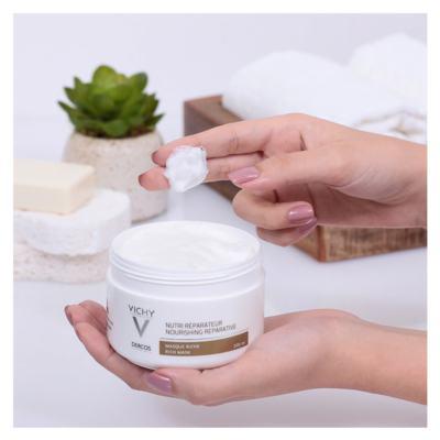 Imagem 10 do produto Vichy Dercos Nutri Reparador Mascara - Vichy Dercos Nutri Reparador Mascara 200ml