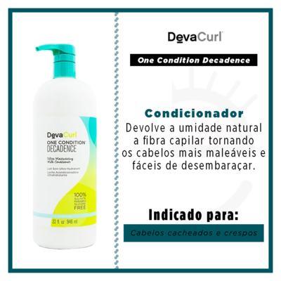 Imagem 3 do produto Deva Curl One Condition Decadence Condicionador - 1L