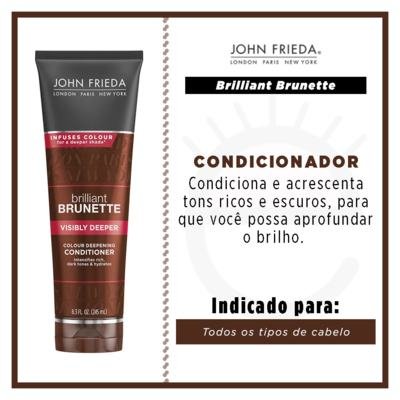Imagem 4 do produto John Frieda Visibly Deeper Colour Deepening - Condicionador - 245ml