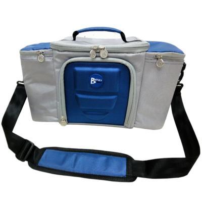 Imagem 1 do produto Bolsa Térmica para Alimentos 42x23x27 cm Batiki DZ-141580 Azul e Cinza