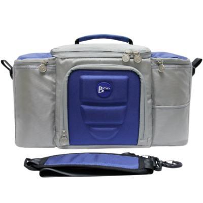 Imagem 2 do produto Bolsa Térmica para Alimentos 42x23x27 cm Batiki DZ-141580 Azul e Cinza