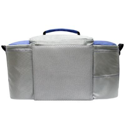 Imagem 4 do produto Bolsa Térmica para Alimentos 42x23x27 cm Batiki DZ-141580 Azul e Cinza