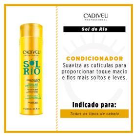 Cadiveu Sol do Rio - Condicionador - 250ml