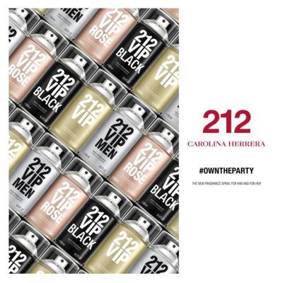 Imagem 4 do produto 212 Vip Men Carolina Herrera - Body Spray - 250ml