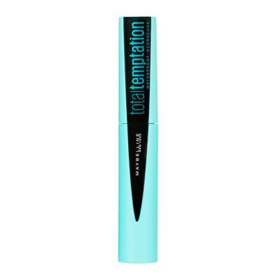 Imagem 1 do produto Total Temptation Waterproof Maybelline - Máscara de Cílios - Blackest Black