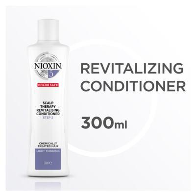 Imagem 4 do produto Nioxin Scalp Therapy Sistema 5 - Condicionador Revitalizante - 300ml