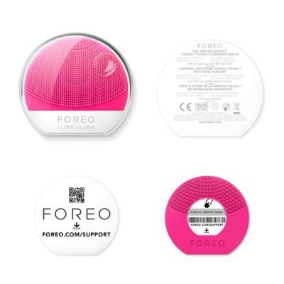 Imagem 5 do produto Luna Play Plus Fuchsia Foreo - Escova de Limpeza Facial - 1 Un