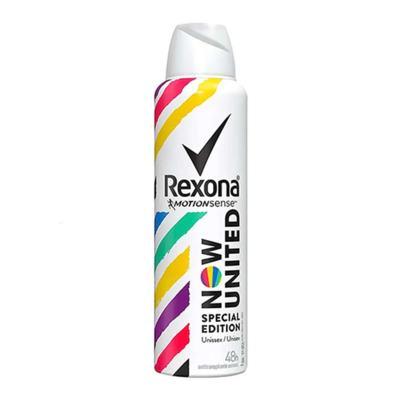 Desodorante Aerosol Rexona Now United Antitranspirante 48h 150ml