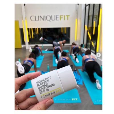 Imagem 5 do produto CliniqueFIT Workout FPS 40 Clinique - Base Facial - 02 - Light Medium