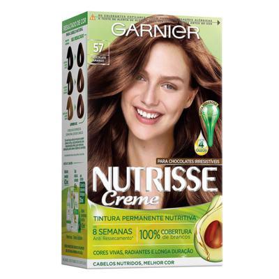 Coloração Nutrisse Garnier 57 Chocolate Amargo - Castanho