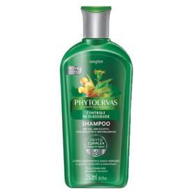 Shampoo Phytoervas - Controle de Oleosidade Gengibre | 250ml