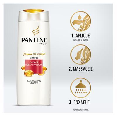 Imagem 8 do produto Pantene Cachos Hidra-Vitamiandos - Shampoo - 175ml