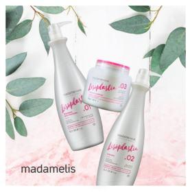 Madamelis Lisoplastia - Shampoo Antirresíduos Passo 1