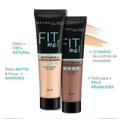 Imagem 5 do produto Fit Me! Maybelline - Base Líquida - B220