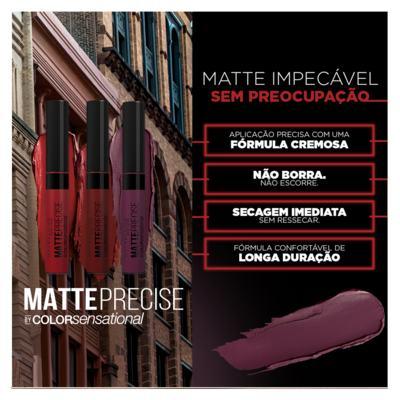 Imagem 4 do produto Batom Líquido Maybelline Matte Precise - Fechamento