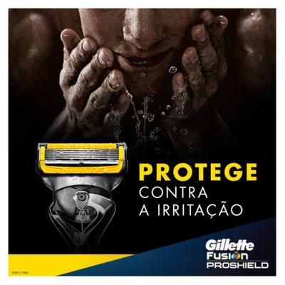 Imagem 15 do produto Aparelho de Barbear Fusion5 Proshield Gillette - 1 Un
