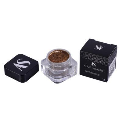 Imagem 4 do produto Sombra Glitter - Alice Salazar - Bronze