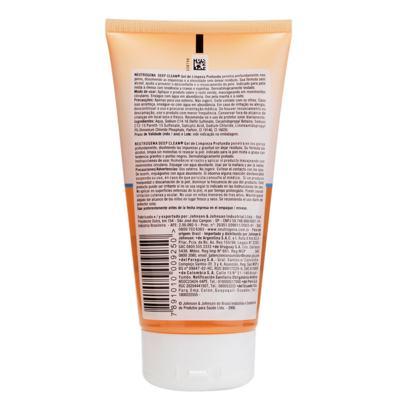 Imagem 2 do produto Limpador Facial Neutrogena Deep Clean Gel de Limpeza - 150g