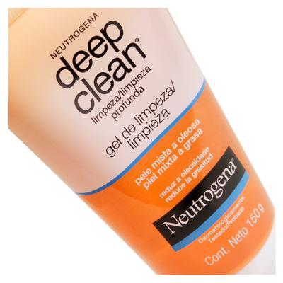 Imagem 3 do produto Limpador Facial Neutrogena Deep Clean Gel de Limpeza - 150g