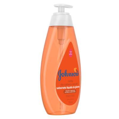 Imagem 2 do produto Sabonete Líquido de Glicerina Da Cabeça aos Pés Johnson's Baby - 750ml