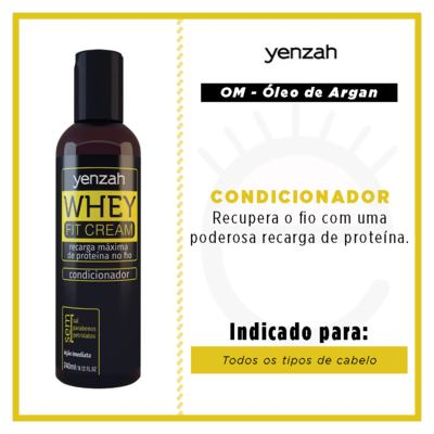 Imagem 2 do produto Yenzah Whey Fit Cream - Condicionador - 240ml