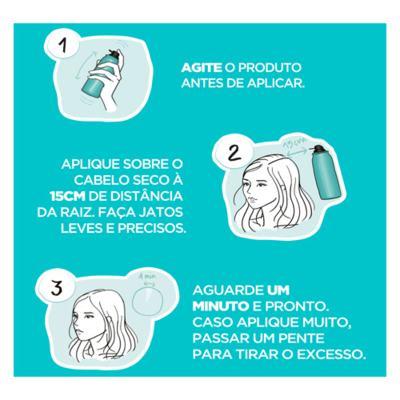 Imagem 3 do produto Spray Retoque de Raiz L'Oréal Paris Magic Retouch - Preto | 75ml