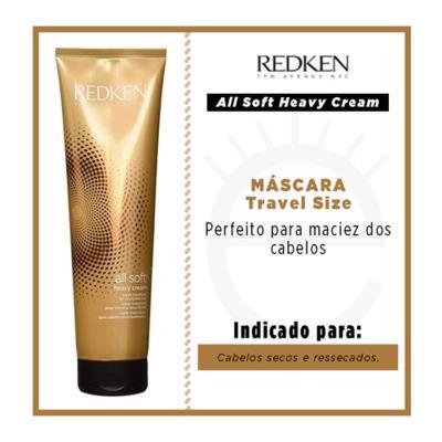 Imagem 2 do produto Redken All Soft Travel Size- Máscara Hidratante - 30ml
