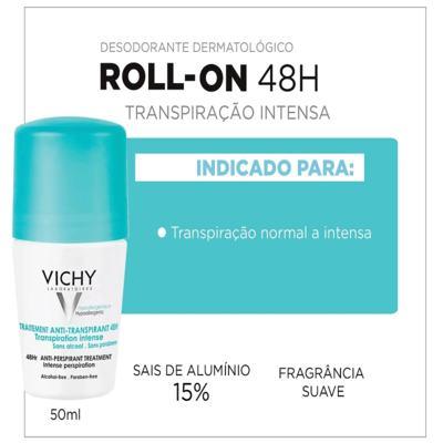 Imagem 10 do produto Vichy Desodorante Antitranspirante Roll On 48h Verde - Vichy Desodorante Antitranspirante Roll On 48h Verde 50ml