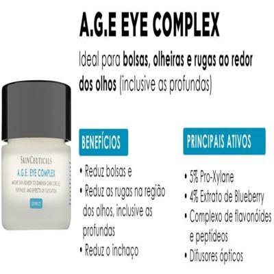 Imagem 12 do produto Skinceuticals AGE Eye Complex Olhos Antiidade - Skinceuticals AGE Eye Complex Olhos Antiidade 15ml