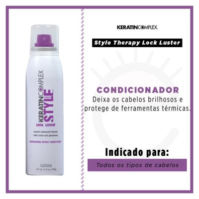Imagem 2 do produto Style Therapy Lock Luster Nourishing Spray Conditioner Keratin Complex - Condicionador em Spray - 147ml