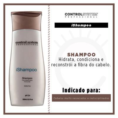 Imagem 3 do produto Control System Ishampoo  - Shampoo Hidratante - 250ml