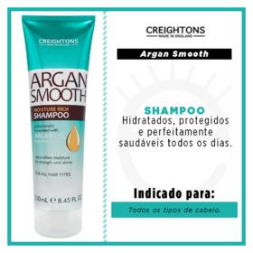 Creightons Argan Smooth Moisture Rich - Shampoo - 250ml