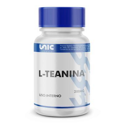 Imagem 2 do produto L-teanina 200mg - 120 Cápsulas